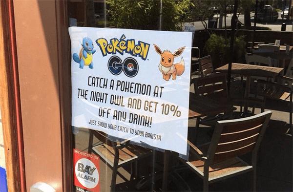 Alennuksia Pokemon Go pelaajille