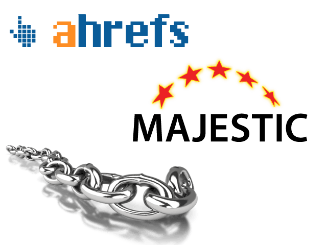 Linkkitutkimus Ahrefs ja Majestic