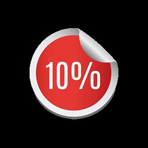 10% alennuskoodi