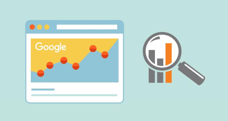Google Search Console tehokkuusraportti