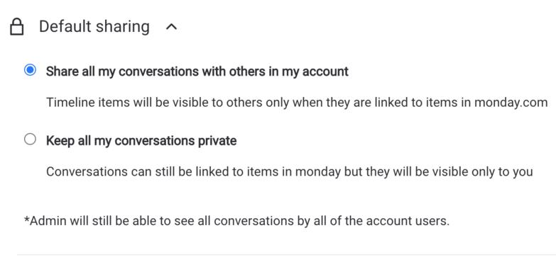 Keskustelun yksityisyysasetukset CommuniHub