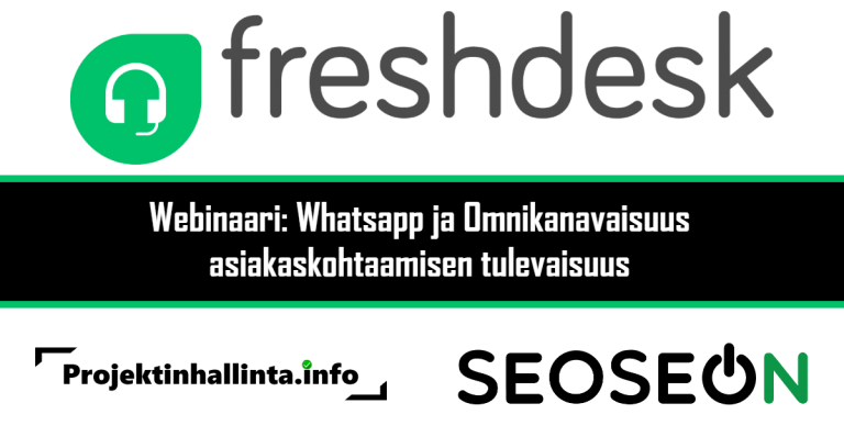 Webinaari Asiakaskohtaamisen tulevaisuus WhatsApp ja omnikanavaisuus