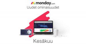 monday.com kesäkuun uudet ominaisuudet